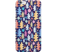 Autumnal pattern with leaves  iPhone Case/Skin