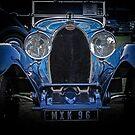 Beautiful Bugatti by Christina Backus