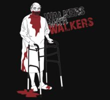 Walkers With Walkers by Murderwear Tshirt by murderwear