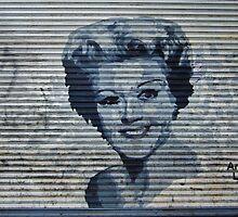 Angela Lansbury by StreetArtCinema