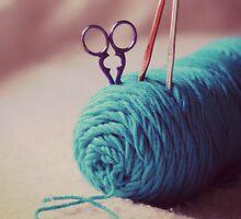 turquoise yarn by Kimberose