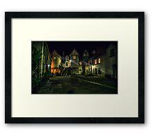 White Horse Close, Canongate. Edinburgh (HDR) Framed Print