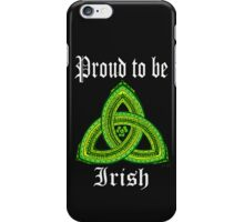 Irish Pride Clover Trinity for Dark Ts and Products iPhone Case/Skin