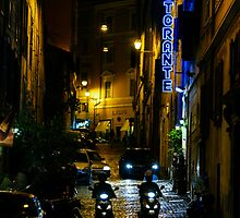 Rome Streets  by saaton