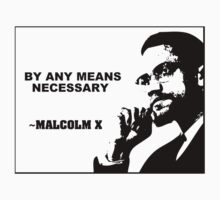 Malcolm X - By any means necessary by Slave UK