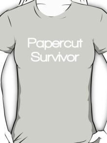 Papercut Survivor T-Shirt