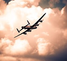 Heading for cloud cover by Chris L Smith