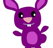 Purple Bunny by kwg2200