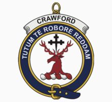 Crawford Clan Badge by William Martin
