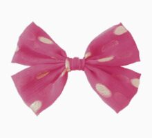 Pretty Pink Bow by punkypromises