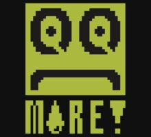 QQ More 8 Bit Tee Shirt and Hoodie by topnerd