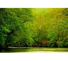 Springtime Down On The River Photographic Print