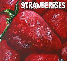 Strawberries  by Sonja Peacock