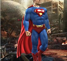 superman  by Mr-benno