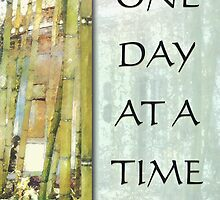 One Day at a Time Bamboo Garden by serenitygifts