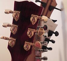 Guitar Heads by Martha Medford