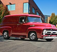 1956 Ford F100 Panel Truck by DaveKoontz