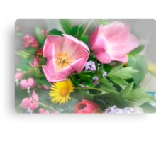 ~ I dreamed I had a spring bouquet ~ Canvas Print