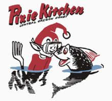 Pixie Kitchen Diving Pixie & Fish Kids Clothes