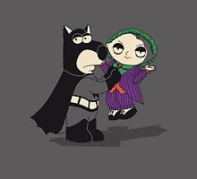 Batman Family Guy iPad by EdWoody