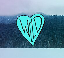Wild Heart: Trillium Lake, Oregon by Leah Flores