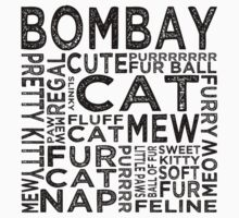 Bombay Cat Typography by Wordy Type