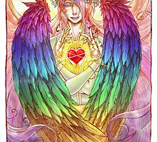 Colorful Angel by pinktoad