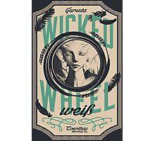 Wicked Wheel Weiß | FFXIV Photographic Print