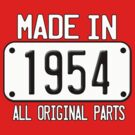 MADE IN 1954 by mcdba