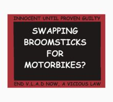 Witchhunt Broomsticks and Bikes by rockabilby