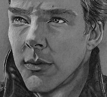 Benedict on Grey Paper by Haleymoon