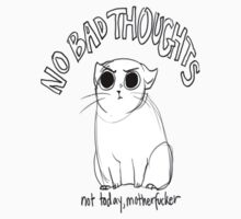 No Bad Thoughts Cats by marebear141