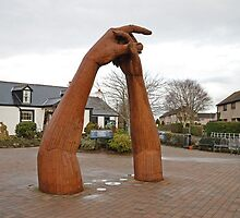 Gretna Green Scotland by Keith Larby