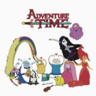 Adventure Time T-Shirt by heartout-tsprnt