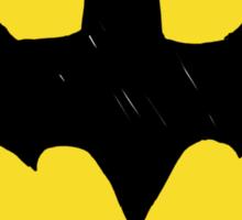 Batman Classic Logo - Handstyle Sticker