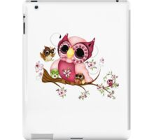 Under Her Wings - Mothers Day Owl Art iPad Case/Skin