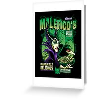 Malefico's - Wicked Flavor In Each Bite! Greeting Card