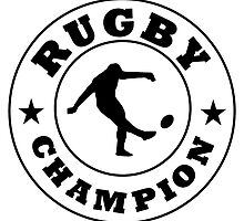 Rugby Champion by kwg2200