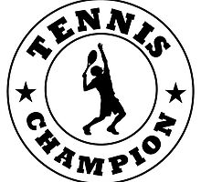 Tennis Champion by kwg2200