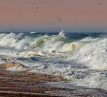 Angry Sea by Bill Wakeley