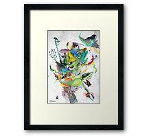 Numb Framed Print