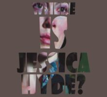 Utopia - T-Shirt - Where Is Jessica Hyde? (2) by MrWhiteBRBA