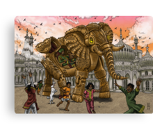 The Maharaja's New Toy Canvas Print