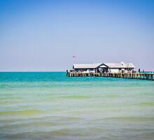 Fishing Pier on Anna Maria Island, Florida by jenbucheli