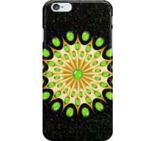Mandala Gold and Emeralds iPhone Case/Skin