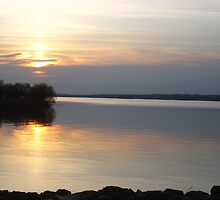 Sunset, Lough Derg by shoelock