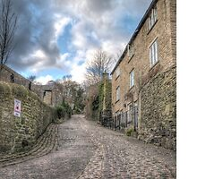 The cobbled lane by Mark  Swindells