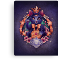 Maneki Luna - Print Canvas Print