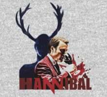 Hannibal wendigo by FandomizedRose