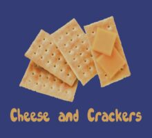 Cheese & Crackers by Alsvisions